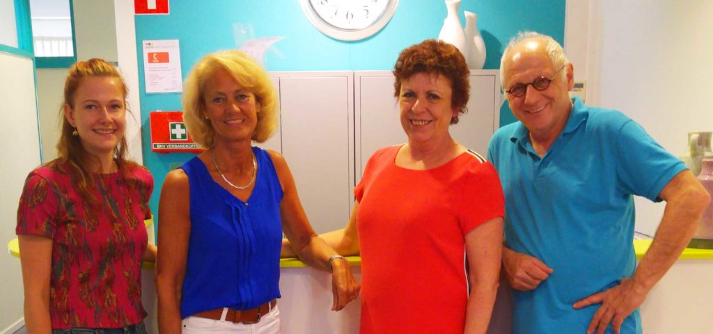 Ons team van fysiotherapeuten en meer…